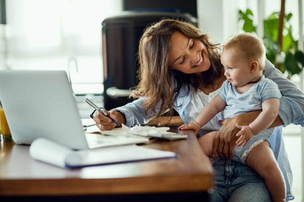 Keystart home loans young mum and baby